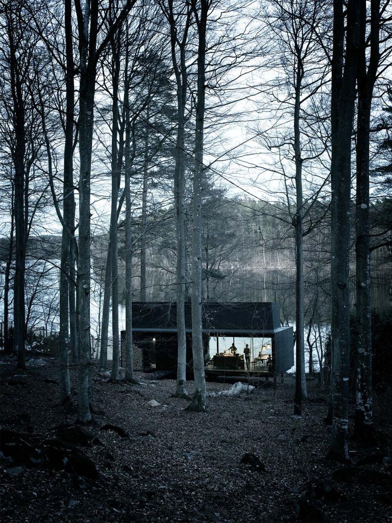 shelter-outside-night