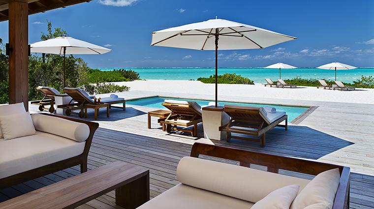 Property-COMOParrotCay-Hotel-GuestroomSuite-TwoBedroomBeachHousePoolDeck-COMOHotelsandResorts